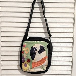 Small Zippered Pug Dog Bag NWOT